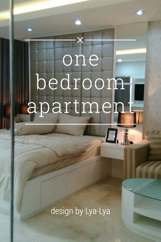 one bedroom apartment design by Lya-Lya