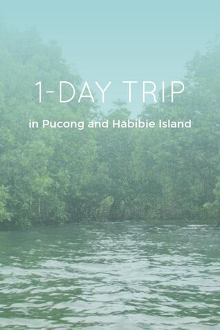1-DAY TRIP in Pucong and Habibie Island