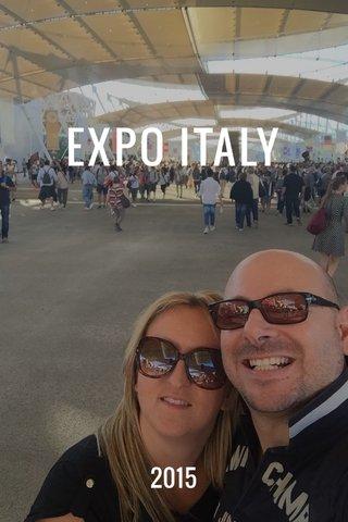 EXPO ITALY 2015