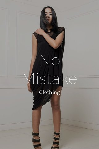 No Mistake Clothing
