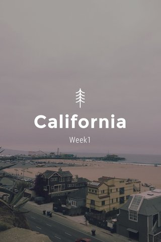 California Week1