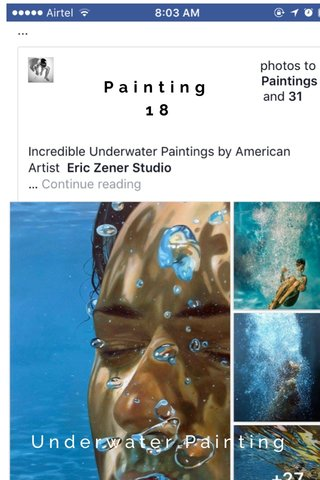Painting 18 Underwater Painting