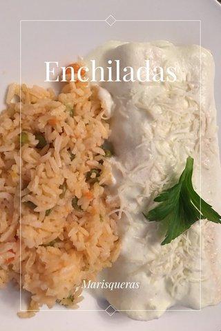 Enchiladas Marisqueras