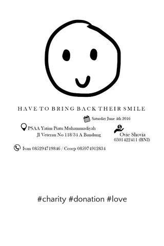 #charity #donation #love