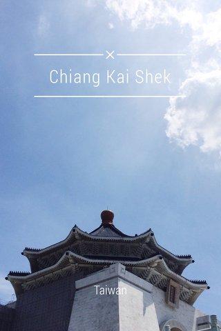 Chiang Kai Shek Taiwan
