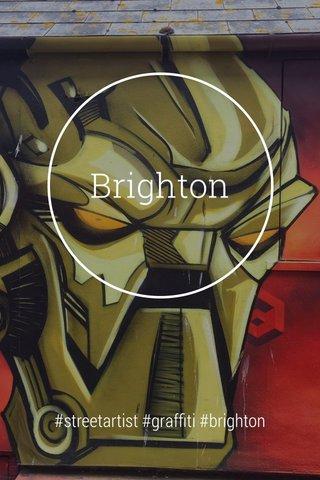 Brighton #streetartist #graffiti #brighton
