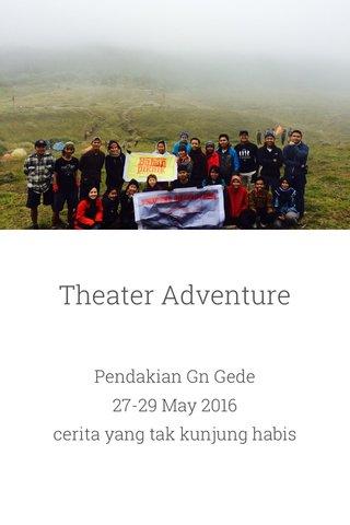 Theater Adventure