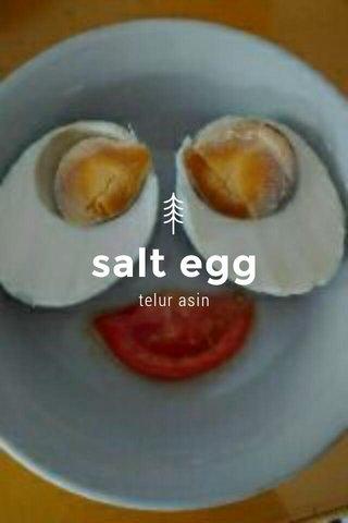 salt egg telur asin