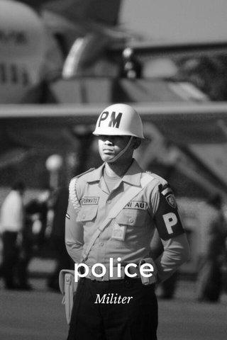 police Militer
