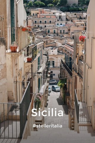 Sicilia #stelleritalia