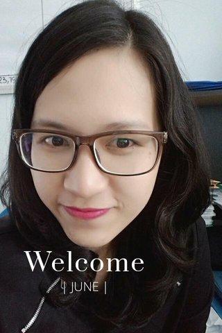Welcome | JUNE |