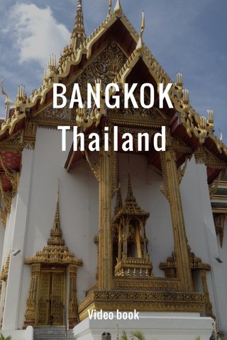 BANGKOK Thailand Video book