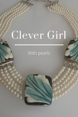 Clever Girl With pearls