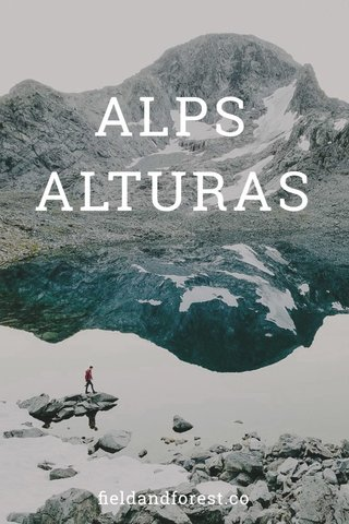 ALPS ALTURAS fieldandforest.co