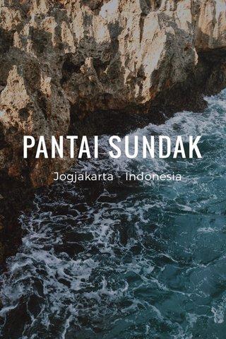 PANTAI SUNDAK Jogjakarta - Indonesia