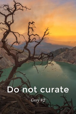 Do not curate Grey #2