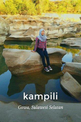 kampili Gowa, Sulawesi Selatan
