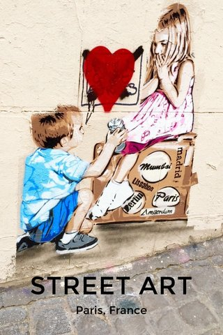 STREET ART Paris, France