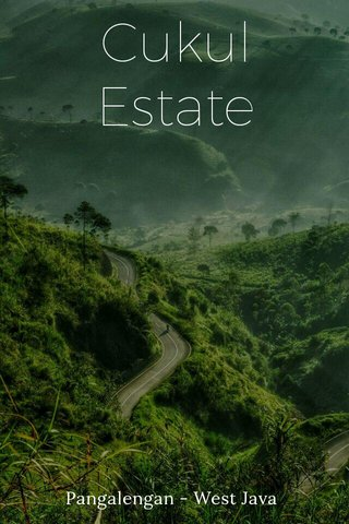 Cukul Estate Pangalengan - West Java