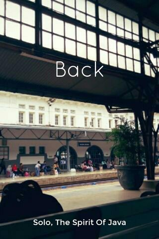 Back Solo, The Spirit Of Java