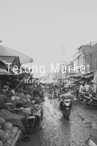 Terong Market Makassar-indonesia