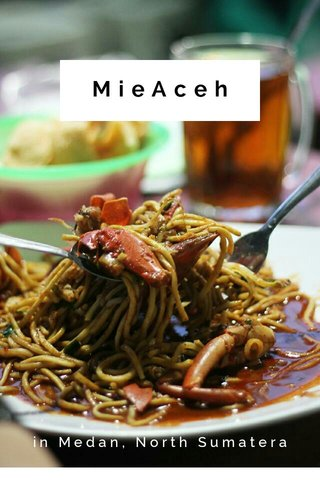 MieAceh in Medan, North Sumatera