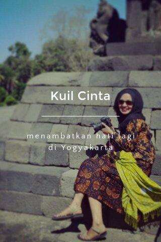 Kuil Cinta menambatkan hati lagi di Yogyakarta