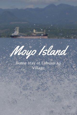 Moyo Island Home stay at Labuan Aji Village