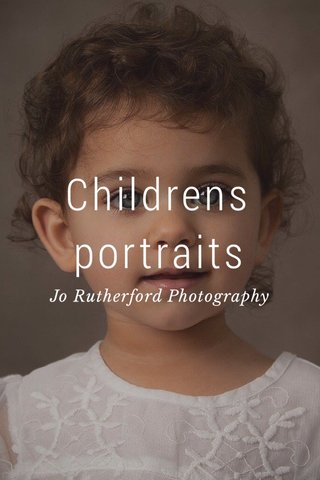 Childrens portraits Jo Rutherford Photography