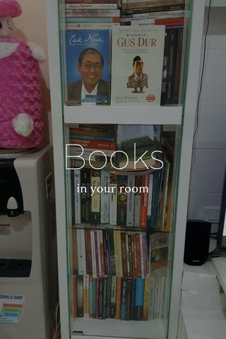Books in your room