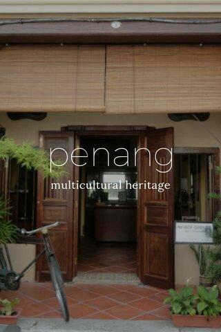 penang multicultural heritage