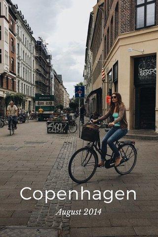 Copenhagen August 2014