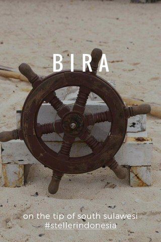 BIRA on the tip of south sulawesi #stellerindonesia
