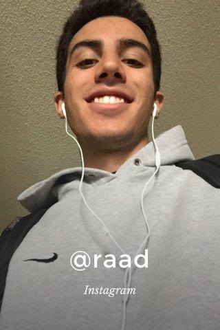 @raad Instagram