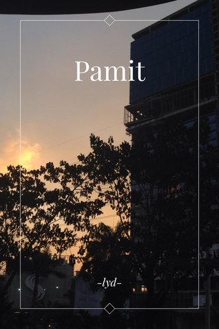 Pamit -lyd-