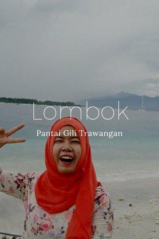 Lombok Pantai Gili Trawangan