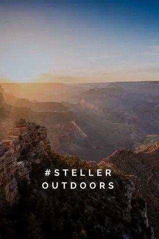 #STELLER OUTDOORS