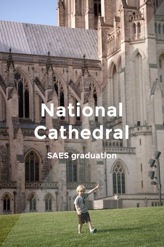National Cathedral SAES graduation
