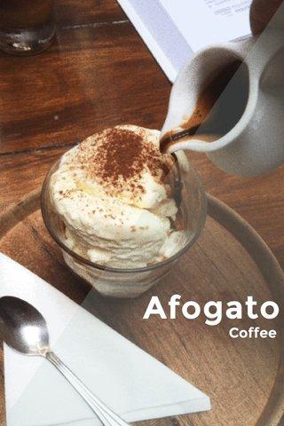Afogato Coffee