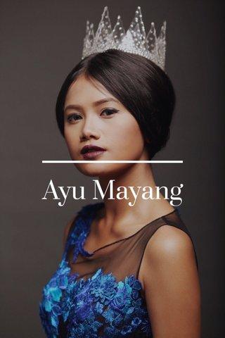 Ayu Mayang