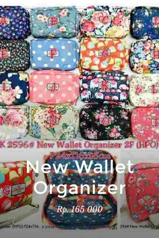 New Wallet Organizer Rp. 165 000