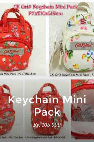 Keychain Mini Pack Rp. 105 000