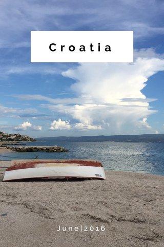 Croatia June|2016