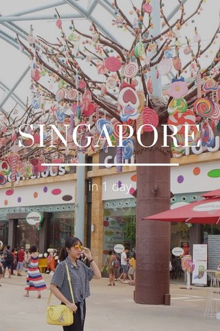 SINGAPORE in 1 day