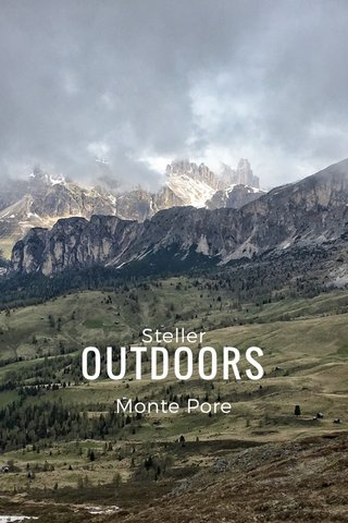 OUTDOORS Steller Monte Pore