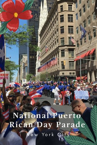 National Puerto Rican Day Parade New York City