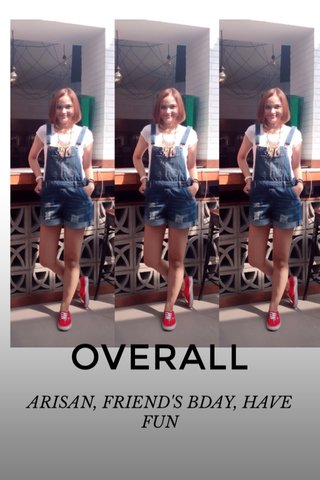 OVERALL ARISAN, FRIEND'S BDAY, HAVE FUN