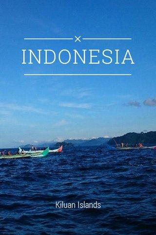 INDONESIA Kiluan Islands
