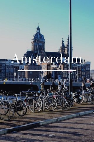 Amsterdam Pop Punk Traveller