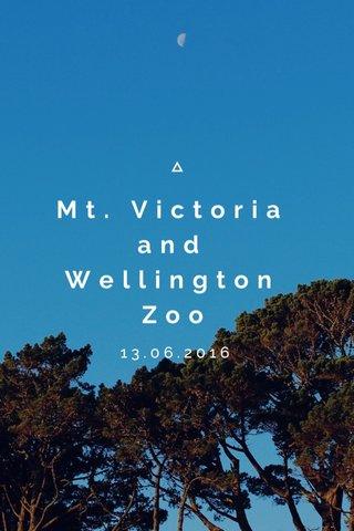 Mt. Victoria and Wellington Zoo 13.06.2016